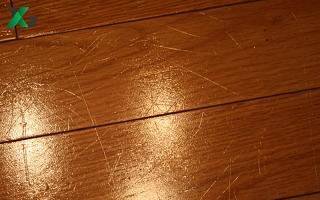Xử lý sàn gỗ bị xước đơn giản hiệu quả