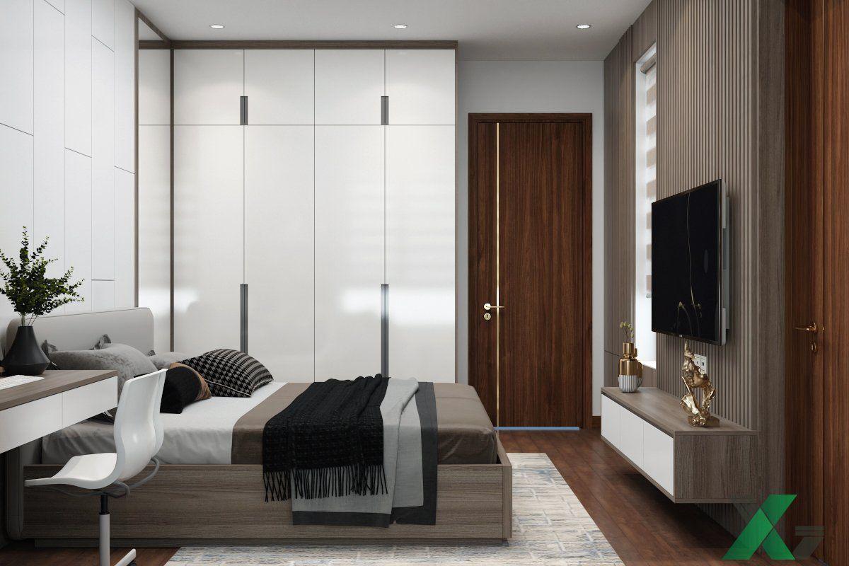 Tủ quần áo kịch trần nội thất phòng ngủ