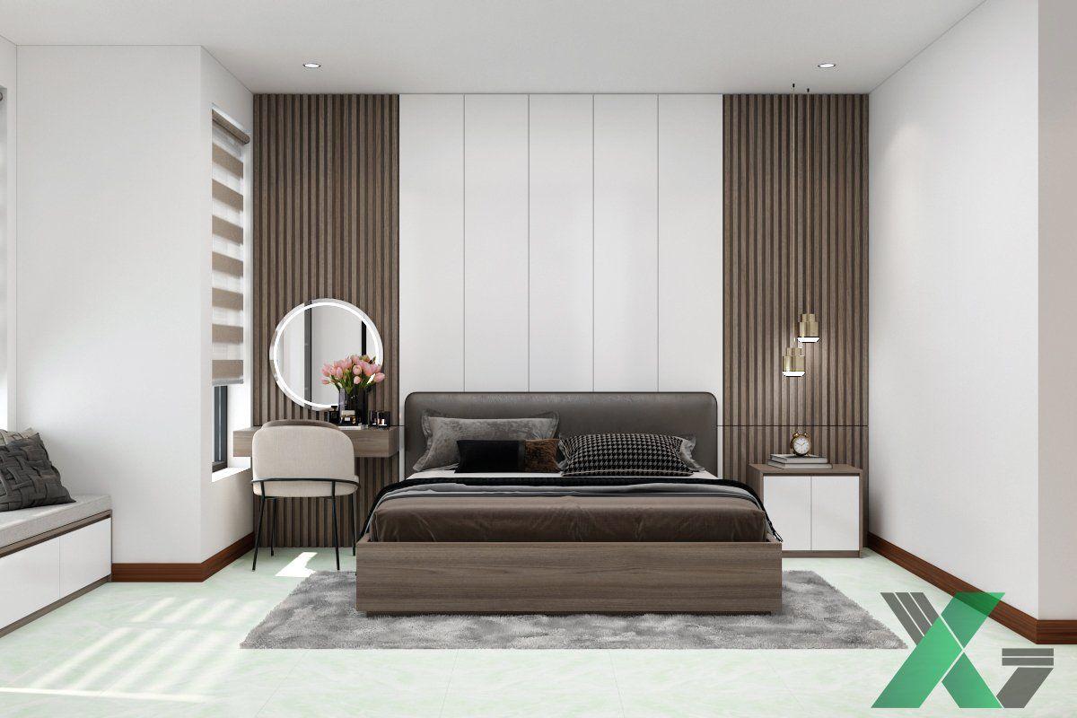 Thiết kế nội thất phòng ngủ đẹp tại Bố Trạch