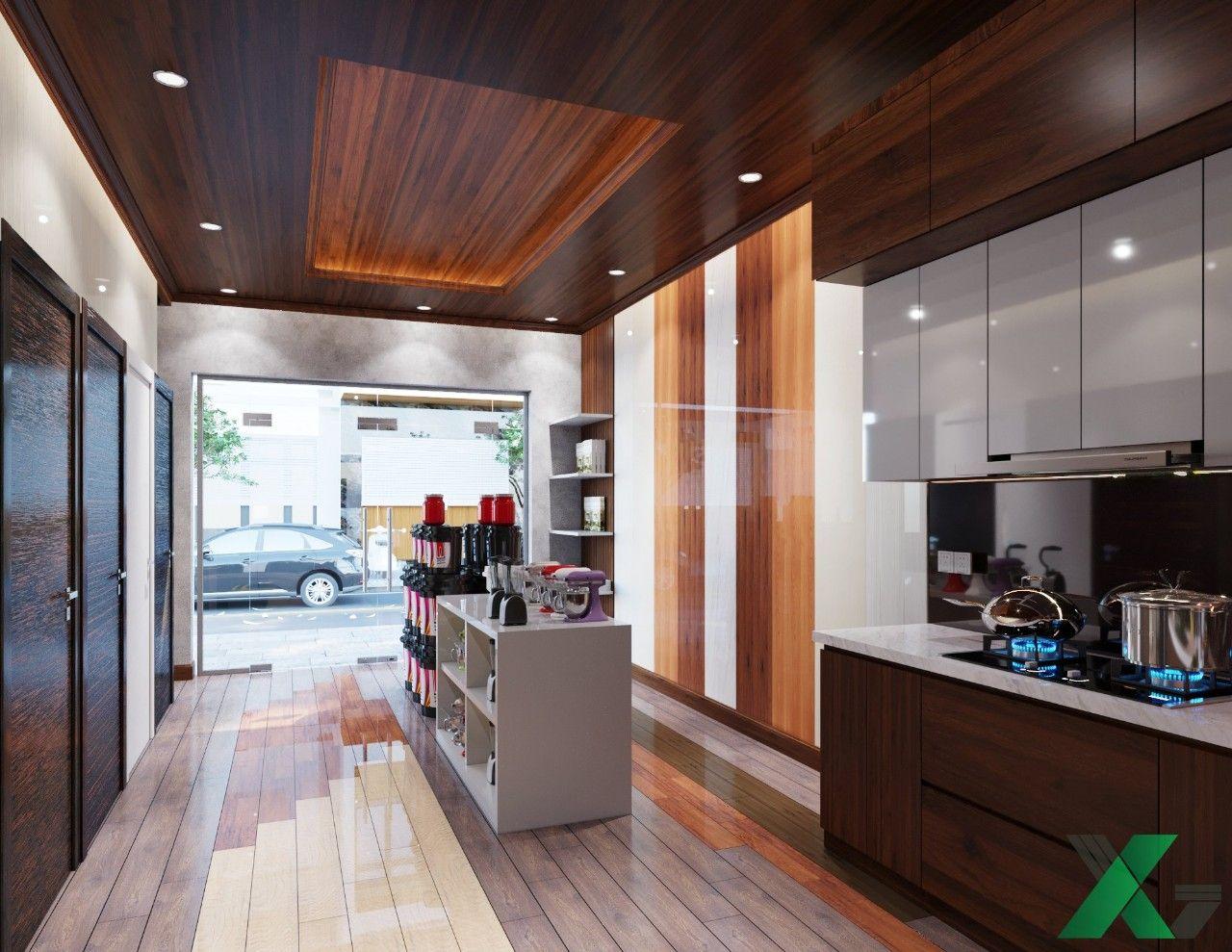 Khu vực trưng bày nội thất phòng bếp